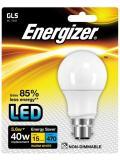 Energizer LED B22/BC Warm White Blister Pack Gls 5.6w