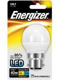 Energizer LED B22/BC Warm White Golf 5.9w