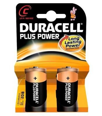 Duracell Long Lasting Power C Battery Pack 2