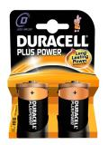 Duracell  Long Lasting Power Batteries D pk2
