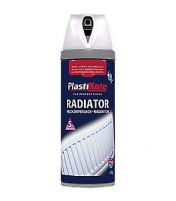 Plastikote Radiator Spray Paint Gloss 400ml