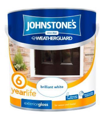Johnstone's Weatherguard 6 Year Exterior Gloss 2.5 Litre