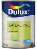Dulux Paint Feature Wall Matt Emulsion 11 Colours Luscious Lime 1.25 Liter