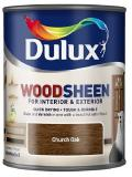 Dulux Interior and Exterior Wood Stains and Varnish Wood-sheen Church Oak 250ml