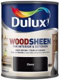 Dulux Interior and Exterior Wood Stains and Varnish Wood-sheen Ebony250ml