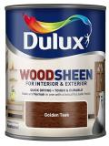 Dulux Interior and Exterior Wood Stains and Varnish Wood-sheen Golden Teak 250ml