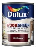 Dulux  Interior and Exterior Wood Stains and Varnish Wood-sheen Rich Mahogany 250ml