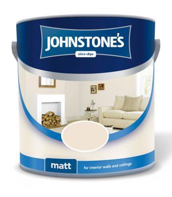Johnstone's Matt Emulsion Colour paint for wall & Ceiling 2.5 Liter