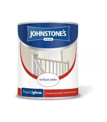 Johnstone's Liquid Gloss Pure Brilliant White 2.5 Litre