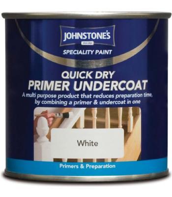 Quick Drying Primer Undercoat Interior and Exterior 250ml White