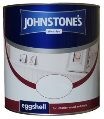 Johnstone's Eggshell Brilliant White 750ml