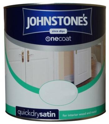 Johnstone's One Coat Quick Dry Satin 750ml PBW