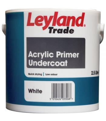 Leyland Trade Acrylic Primer Undercoat for Wood 2.5 Liter White