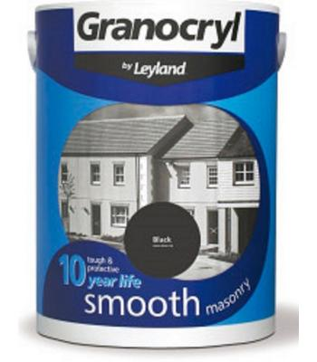 Masonry Paint Granocryl Smooth Exterior Paint 5 LITRE 13 COLOURS