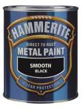 Hammerite Metal Paint Direct to Rust Smooth Finish 250ml 12 Colours