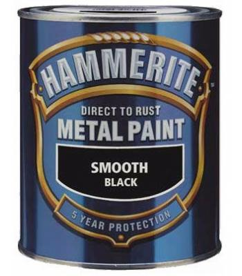 Hammerite Metal Paint Direct to Rust Smooth Finish 750ml 12 Colours