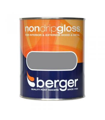 Berger Non Drip Gloss Paint for Wood & Metal 750ml