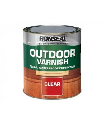 Ronseal Outdoor Varnish Clear Gloss 250ml