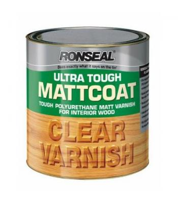 Ronseal Ultra Tough Clear Varnish 750ml