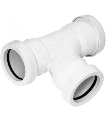 Wastes Pipe Fittings 40 mm Push Fit white 1 1/2 inch