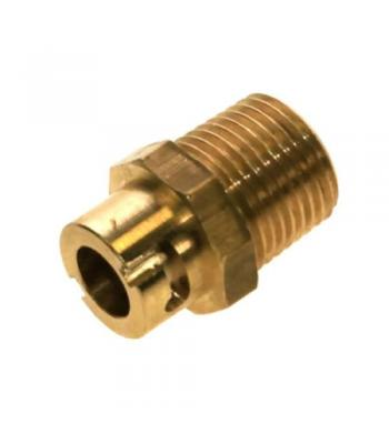 Micro point socket for main gas cooker hose connector straight