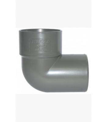 Waste Pipe Fittings 40 mm Solvent Weld Fittings Grey 1 1/2 inch