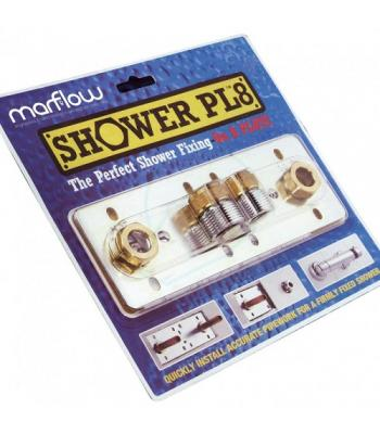 Marflow Shower Fixing Plate Professional shower installation kit