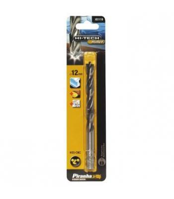 Piranha HSS-CNC Drill Bit for Metal Aluminum plastic Wood 1 mm - 12 mm