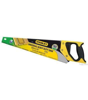Stanley Heavy Duty Hand Saw 7TPI for Fast Efficient Cut