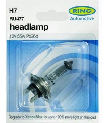 Car Headlamp H7 RU477 Auto Bulb For Car Head Light