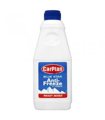 Carplan Blue Star Anti-Freeze & Coolant 1 Litre