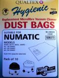 Numatic Harry AS200 Microfibre Vacuum Cleaner Dust Bags Pack of 10