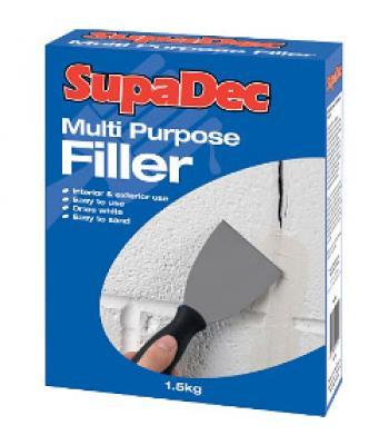 Supadec Multi Purpose Filler Powder for Interior and Exterior use1.5kg