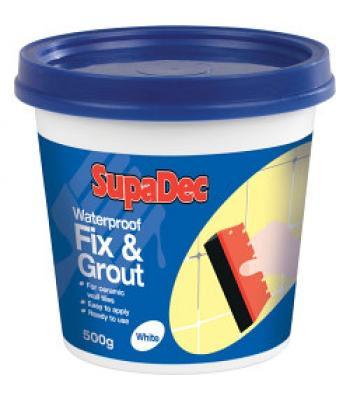 Supadec Waterproof Fix & Grout
