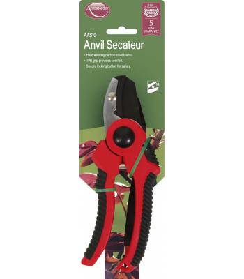 Ambassador Anvil Jaw Secateur 8""