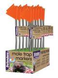 Defenders Hi-Vis Mole Trap Markers Pack 5