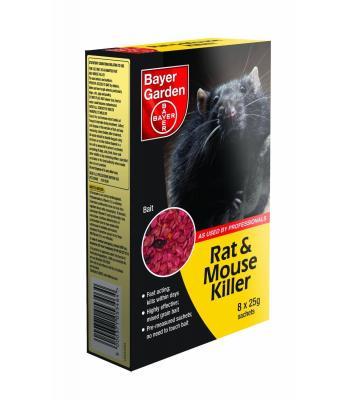 Bayer Rat & Mouse Killer 500g