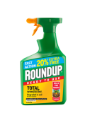 Fast Action Roundup Weedkiller 1 Litre 20% Extra Free Ready to use Kills the roots
