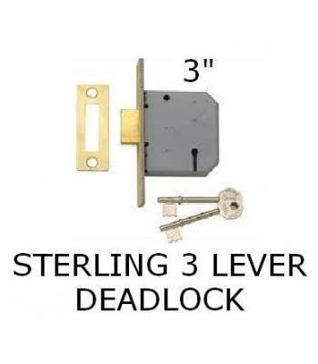 Sterling 3 Lever Sashlock