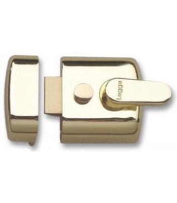 Legge Night Latch Brass or Silver