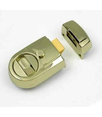 Yale Traditional Night-latch brass finish 60mm