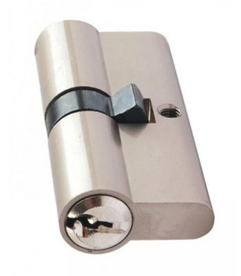 Euro Profile Cylinder Lock Solid Brass 70 mm 30 x10 x 30 mm Chrome Plated