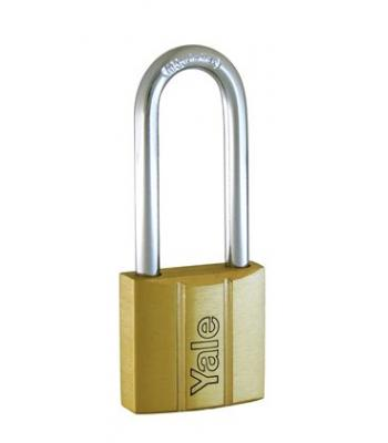Yale 40 mm Brass Padlock long reach P110/40/163/1