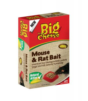 STV The Big Cheese Mouse & Rat Bait 400g