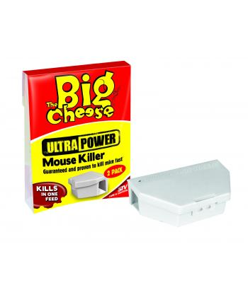 STV The Big Cheese Ultra Power Mouse Killer 2 Pack