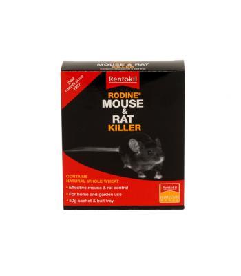 Rentokill Rodine Mouse & Rat Killer 50g