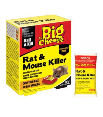 STV-143 The Big Cheese Rat & Mouse Killer 40g