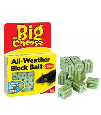 STV The Big Cheese All-Weather Block Bait 15 Blocks