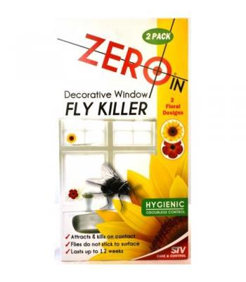 STV Zeroin Decorative Window Fly Killer 2 Pack