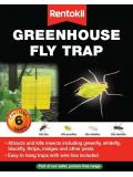 Rentokil Greenhouse Fly Trap 6 Traps